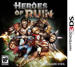 Jaquette de Heroes of Ruin Nintendo 3DS