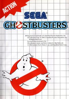 Jaquette de Ghostbusters Master System