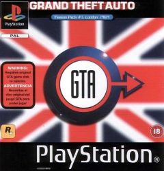 Jaquette de Grand Theft Auto : London 1969 PlayStation