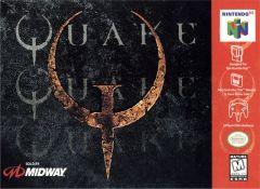 Jaquette de Quake Nintendo 64