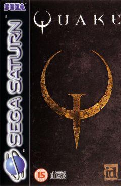 Jaquette de Quake Sega Saturn