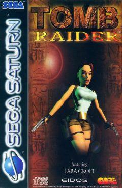 Jaquette de Tomb Raider (original) Sega Saturn