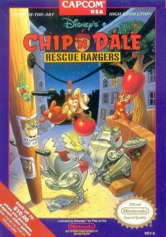Chip'N Dale : Rescue Rangers (NES)