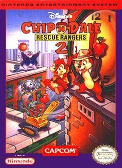 Jaquette de Chip'N Dale : Rescue Rangers 2 NES