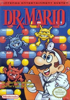 Jaquette de Dr. Mario NES