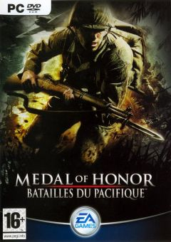 Jaquette de Medal of Honor : Batailles du Pacifique PC