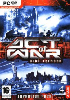 Jaquette de Act of War : High Treason PC
