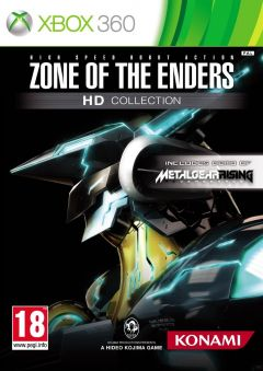 Jaquette de Zone of the Enders HD Collection Xbox 360
