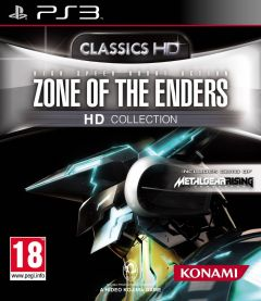 Jaquette de Zone of the Enders HD Collection PlayStation 3