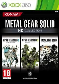 Jaquette de Metal Gear Solid HD Collection Xbox 360