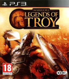 Jaquette de Warriors : Legends of Troy PlayStation 3