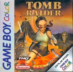 Jaquette de Tomb Raider (original) Game Boy
