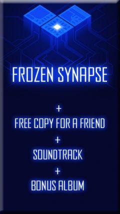 Jaquette de Frozen Synapse Mac