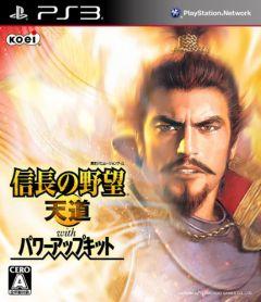 Jaquette de Nobunaga's Ambition Tendô  Power Up Kit PlayStation 3