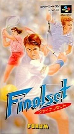Jaquette de Final Set Tennis Super NES