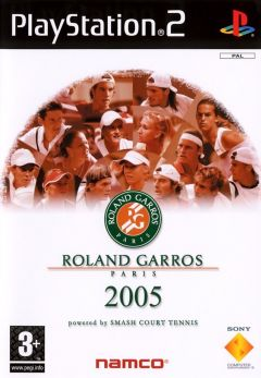 Jaquette de Roland Garros 2005 : Powered by Smash Court Tennis PlayStation 2
