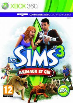 Jaquette de Les Sims 3 : Animaux et compagnie Xbox 360