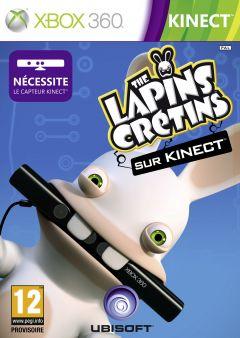 Jaquette de The Lapins Crétins partent en live Xbox 360