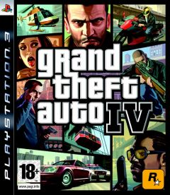 Jaquette de Grand Theft Auto IV PlayStation 3