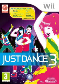 Jaquette de Just Dance 3 Wii