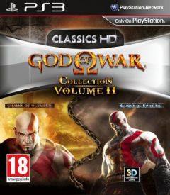 Jaquette de God of War Collection Vol II PlayStation 3