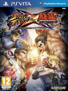 Jaquette de Street Fighter X Tekken PS Vita
