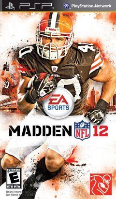 Jaquette de Madden NFL 12 PSP