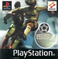 Jaquette de ISS Pro Evolution PlayStation