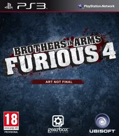 Jaquette de Brother in Arms Furious 4 PlayStation 3