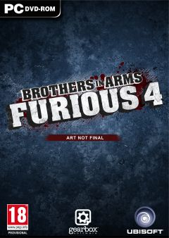 Jaquette de Brother in Arms Furious 4 PC