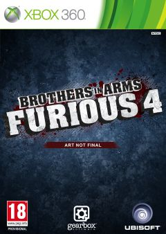 Jaquette de Brother in Arms Furious 4 Xbox 360