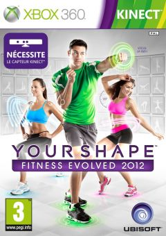 Jaquette de Your Shape : Fitness Evolved 2012 Xbox 360