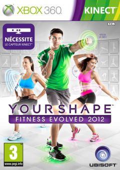 Jaquette de Your Shape : Fitness Evolved 2012 Xbox 360