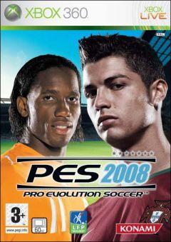 Jaquette de PES 2008 Xbox 360