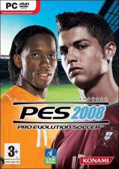Jaquette de PES 2008 PC