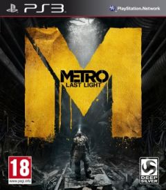 Jaquette de Metro : Last Light PlayStation 3