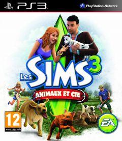 Jaquette de Les Sims 3 : Animaux et compagnie PlayStation 3