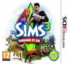 Jaquette de Les Sims 3 : Animaux et compagnie Nintendo 3DS