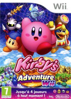 Jaquette de Kirby's Adventure Wii Wii