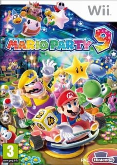 Jaquette de Mario Party 9 Wii