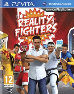 Jaquette de Reality Fighters PS Vita