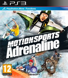 Jaquette de MotionSports Adrenaline PlayStation 3