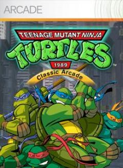 Jaquette de Teenage Mutant Ninja Turtles : 1989 Classic Arcade Xbox 360