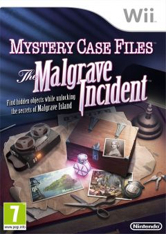 Jaquette de Mystery Case Files : The Malgrave Incident Wii