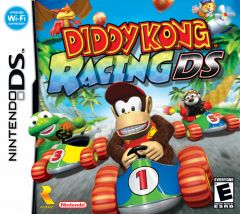 Jaquette de Diddy Kong Racing DS DS