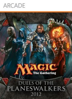 Jaquette de Magic : The Gathering - Duels of the Planeswalkers 2012 Xbox 360