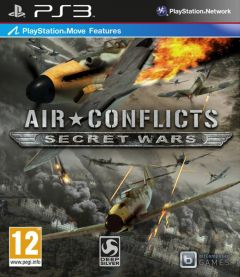Jaquette de Air Conflicts Secret Wars PlayStation 3