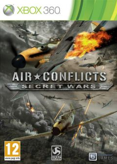 Jaquette de Air Conflicts Secret Wars Xbox 360