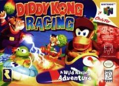 Jaquette de Diddy Kong Racing Nintendo 64