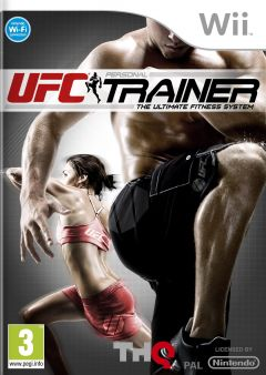 Jaquette de UFC Personal Trainer :The Ultimate Fitness System Wii